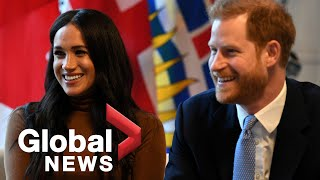 Prince Harry, Meghan will no longer be working members of the royal family