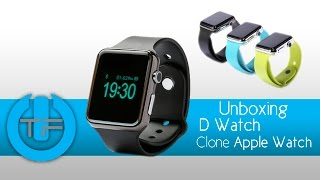 Unboxing D Watch - Clone Apple Watch