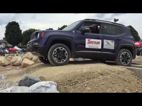 Off Road Consulting with Jeep Renegade Trailhawk at the PA Jeeps All Breeds Jeep Show.