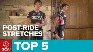 Top 5 Stretches To Do After A Ride | Cycling Fitness