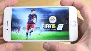 vuclip FIFA 16 Ultimate Team iPhone 6 Gameplay Review (4K)
