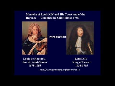 Saint Simon on Louis XIV 1755