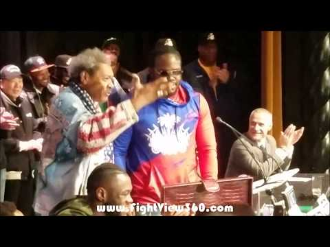 HILARIOUS DON KING STEALS SHOW! WILDER VS STIVERNE 2 FINAL PRESS CONFERENCE! TO SIGN WILDER?