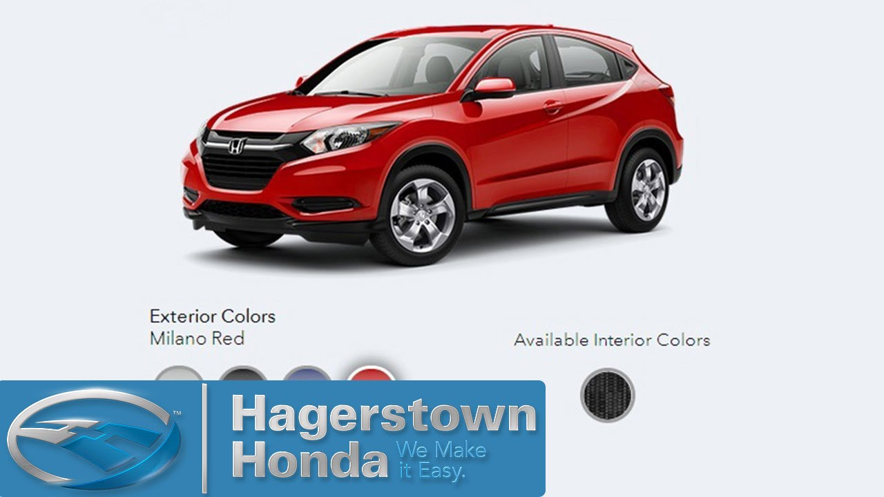 2016 Honda Hrv Colors