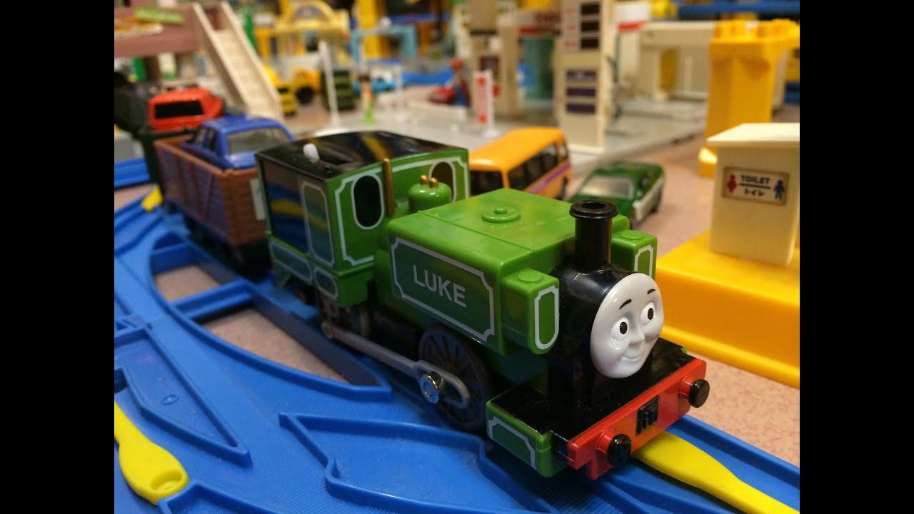 Trains jouets thomas et ses amis luke et 13 voiture jouet moul sous pression 01238 fr youtube - Train thomas et ses amis ...