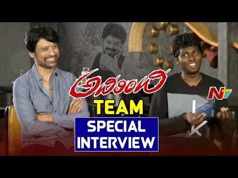 SJ Surya And Director Atlee Kumar Special Interview    Adhirindhi Movie    Vijay    NTV