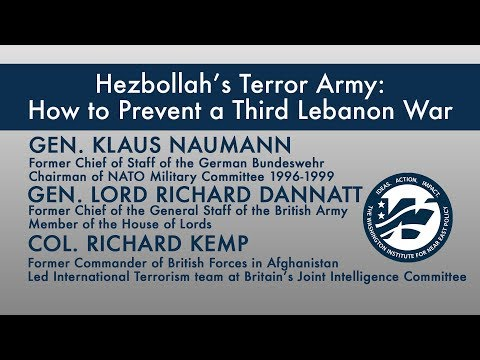Hezbollah's Terror Army: How to Prevent a Third Lebanon War
