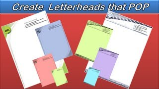 Letterhead - Create a Letterhead that Pops - Word 2013 - Word 2010 Mp3