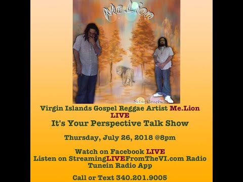 Virgin Islands Gospel Reggae Artist Me.Lion & his New Music for 2018