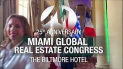 Keynote Speaker Highlights from the 25th MIAMI Global Real Estate Congress