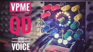 VPME - QD [Quad Drum Voice/Beta Version] Sounds & Features / 5 short demo jams (No Talking)