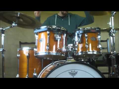 1997 Tama Rockstar Drums (Sound Test)
