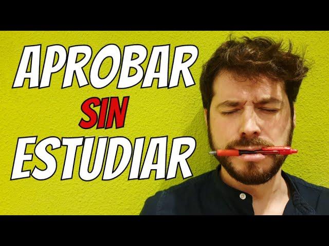 Cómo Aprobar Sin Estudiar Un Examen Con 5 Trucos Y Tips Para Pasar Sacar Preparatoria O Selectividad Youtube