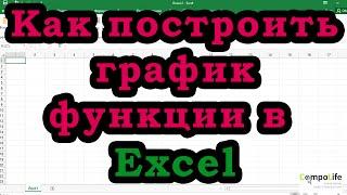 Excel: как построить график функции или диаграмму в Эксель