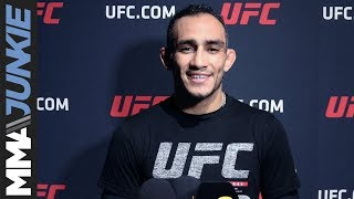 UFC 238: Tony Ferguson full open workout media scrum