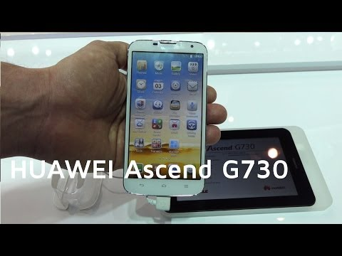 HUAWEI Ascend G730 Hands-on | MWC 2014