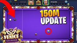HE THOUGHT HE WON! New 150M Venice Table (8 Ball Pool Update Gameplay)