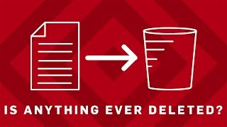 Are Files Ever REALLY Deleted? | Earth Lab