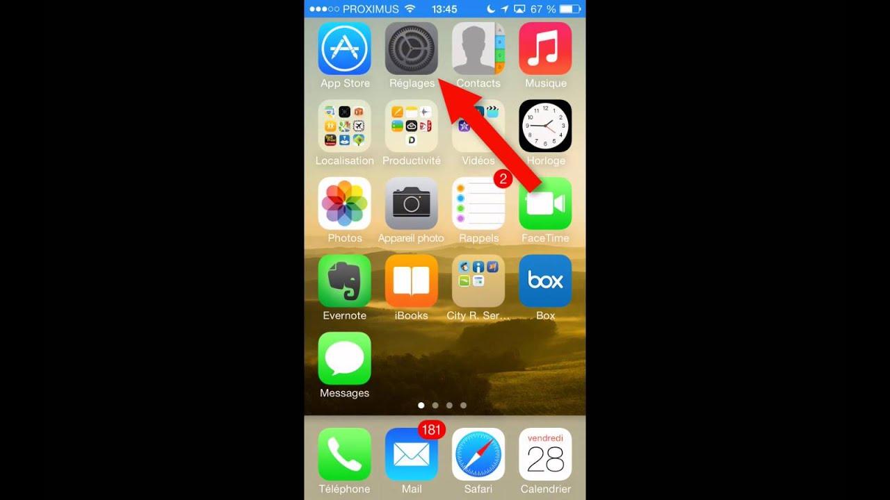 Desactiver Localisation Iphone