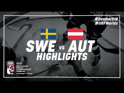 Game Highlights: Sweden vs Austria May 9 2018 | #IIHFWorlds 2018