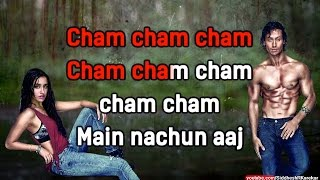"Cham Cham (from ""Baaghi"") (Instrumental / Karaoke) {2016} with lyrics"