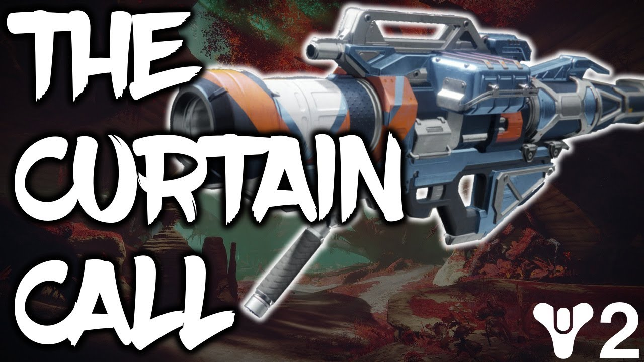 Destiny 2 Curtain Call Review Best Pve Rocket Launcher Youtube