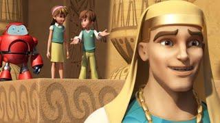 Superbook - Joseph and Pharaoh's Dream - Season 2 Episode 2 - Full Episode (Official HD Version)