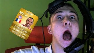 BEST PACK OPENING REACTION! FIFA 15!