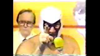 GCW - Buzz Sawyer vs Mr Wrestling II / Masked Superstar Destroys II