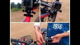 Cara Memasang Kamera B-Pro5 Pada Sepeda - How To Set Up Action Camera On Mountain Bike
