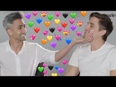 tan france and antoni porowski being cute for 5 minutes straight