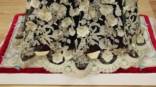 루나스드레스하우스 LDHE 3186 블랙 황금정원 이브닝 드레스
