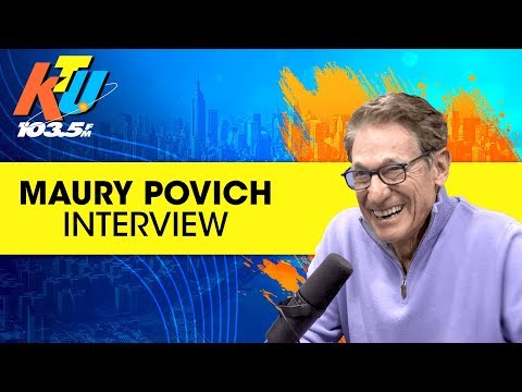 Carolina With Greg T In The Morning Show - Maury Povich Talks New Game and Advice for Cheaters