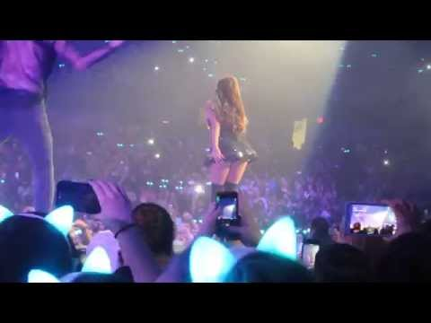 ARIANA GRANDE SHAKES HER BUTT IN MY FACE Chicago 3/3/15 thumbnail