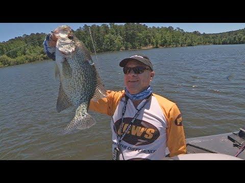 FOX Sports Outdoors SouthWEST #33 - 2017 Lake Greeson Arkansas Crappie Fishing