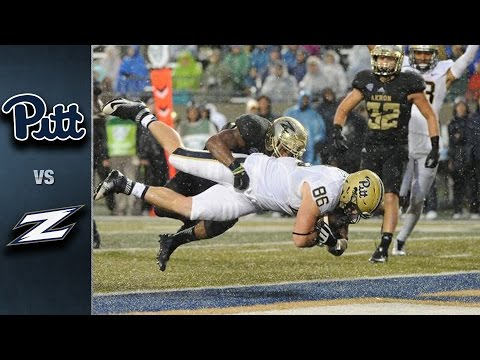 Pitt Vs Akron | 2015 ACC Football Highlights
