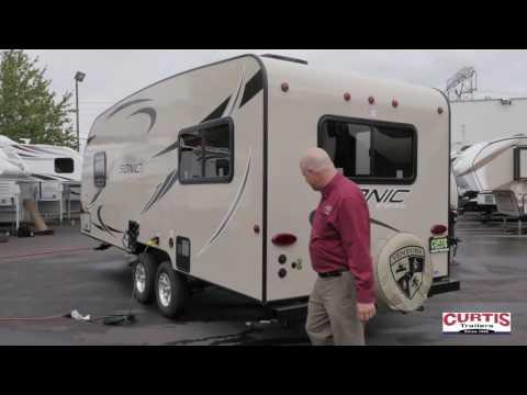 2017 Venture Sonic 210VRD lightweight trailer