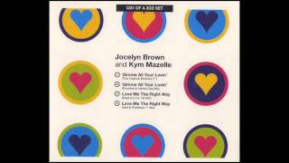 jocelyn brown & kym mazelle - gimme all your lovin (evolution herbal zee mix) 1994