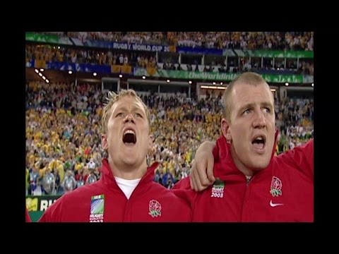 Anthem: England's passionate anthem ahead of 2003 final