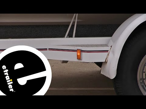 Optronics Amber Trailer Clearance and Side Marker Light Review - etrailer.com