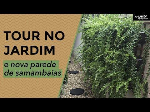 JARDIM TOUR E NOVA PAREDE DE SAMAMBAIAS