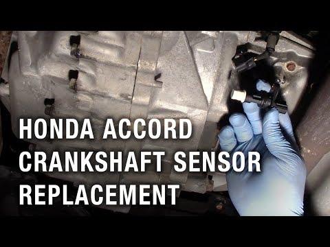 Honda Accord Crankshaft Sensor Replacement