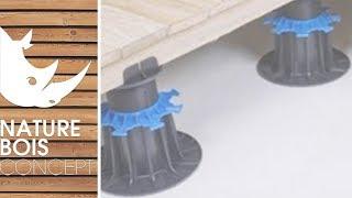 Pose de dalles sur plots yourepeat - Pose dalle pvc adhesive ...
