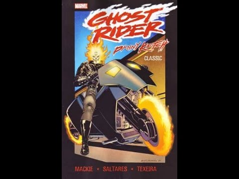 Subscriber Requested Graphic Novel Review| Ghost Rider Danny Ketch Classic Vol 1