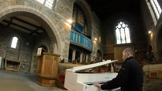 Gladiator Soundtrack - Hans Zimmer - church organ / piano cover epic