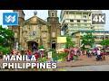 Walking around Divisoria in Tondo, Manila, Philippines 【4K】 🇵🇭