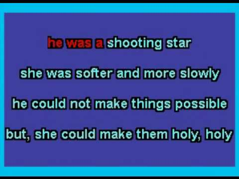 Shooting Star - Harry Chapin Karaoke by Allen Clewell