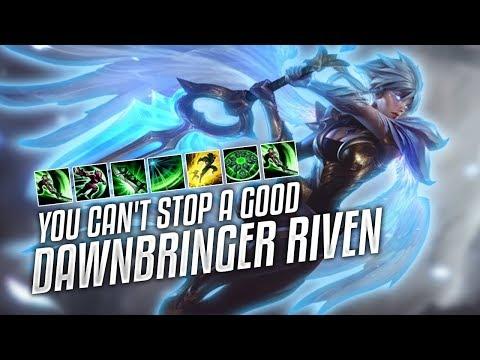 Riven Dodge Nunu Skill League Funny Moments 2018