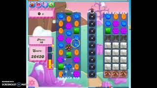 Candy Crush Level 341 Audio Talkthrough, 3 Stars 0 Boosters