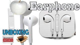 AliExpress Unboxing #197 - Fone Earpod MAZZETO IMPORTS